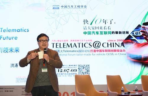 江苏天安智联科技股份有限公司总经理洪涛
